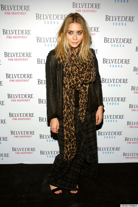 NEW YORK - MAY 13:  Ashley Olsen attends the Belvedere Pink Grapefruit launch party at The Belvedere Pink Grapefruit Pop-Up on May 13, 2010 in New York City.  (Photo by Andy Kropa/Getty Images)