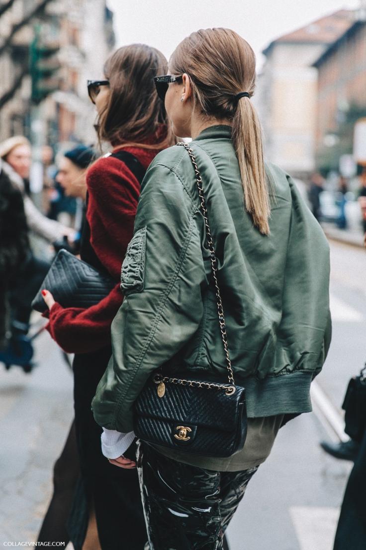 Milan_Fashion_Week_Fall_16-MFW-Street_Style-Collage_Vintage-Chiara_Capitini-Giorgia_Tordini-Bomber_Jacket-Chanel_Bag-.jpg