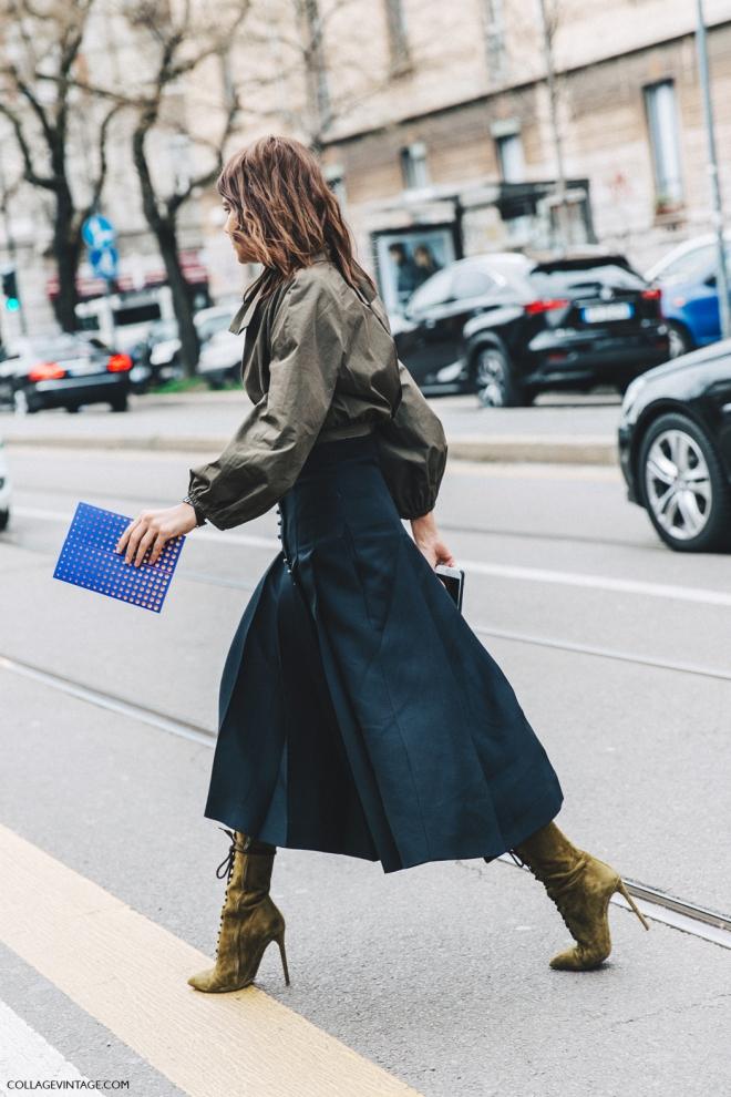 Milan_Fashion_Week_Fall_16-MFW-Street_Style-Collage_Vintage-Christine_Centenera-Bomber-Midi_Skirt-Lace_Up_Boots-1.jpg