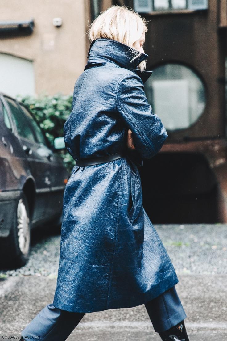 Milan_Fashion_Week_Fall_16-MFW-Street_Style-Collage_Vintage-Rainy_Coat-Navy_Blue-.jpg