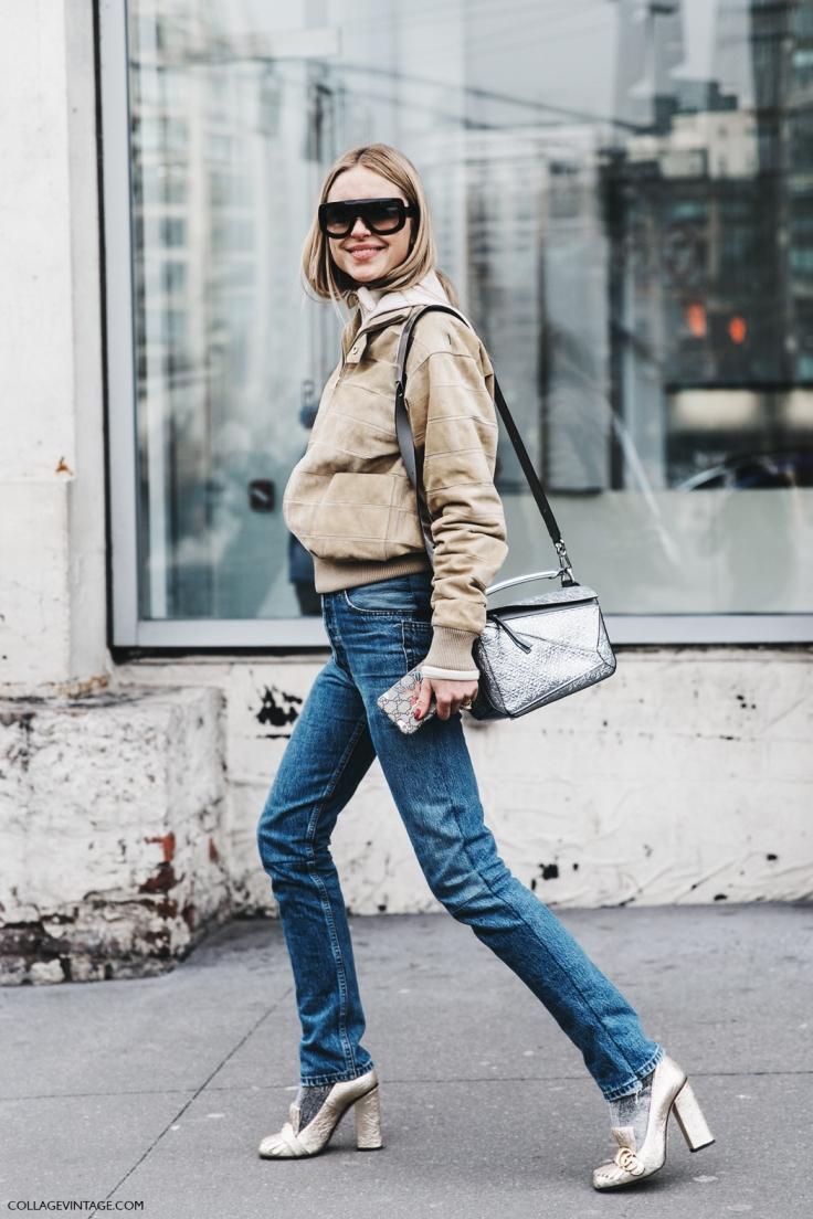 NYFW-New_York_Fashion_Week-Fall_Winter-17-Street_Style-Look_De_Pernille-Suede_Bomber-Loewe_Glitter_Bag-Gucci_Shoes-1.jpg