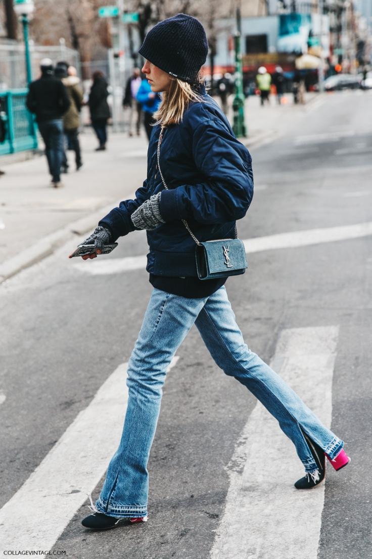 NYFW-New_York_Fashion_Week-Fall_Winter-17-Street_Style-Saint_Laurent_Bag-Jessica_Minkoff-Jeans-Bomber-1.jpg
