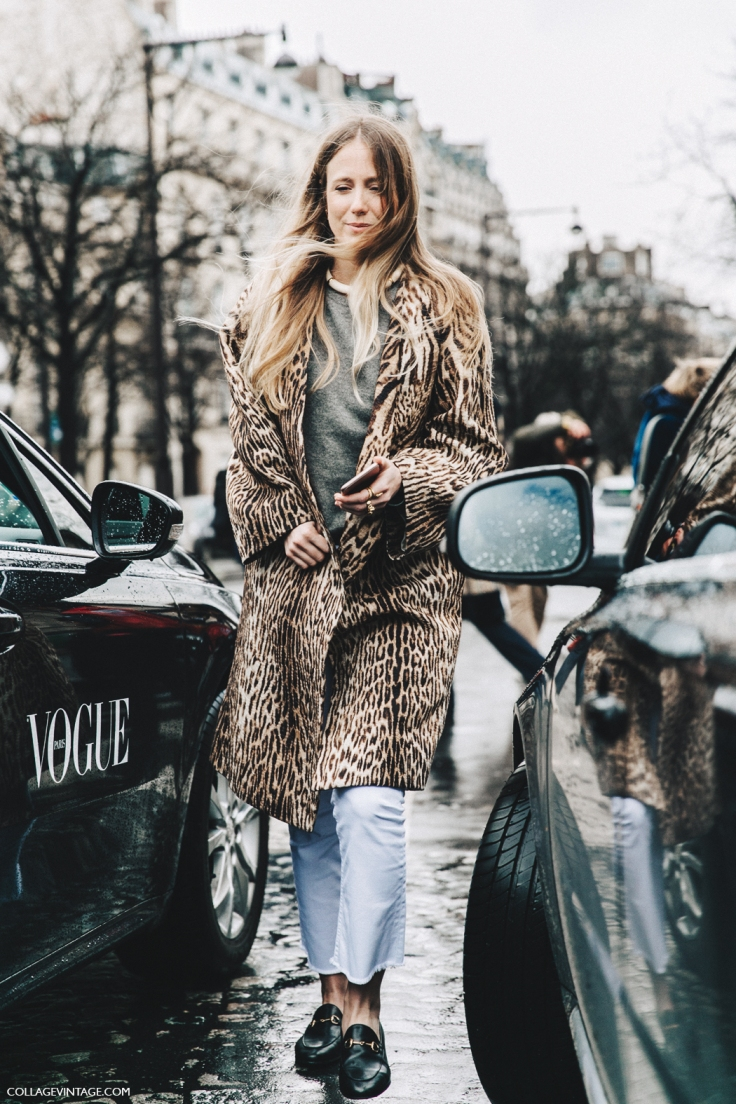 PFW-Paris_Fashion_Week_Fall_2016-Street_Style-Collage_Vintage-Jennifer_Neyt-Leopard_Coat-Chloe-White_Trousers-Gucci_Loafers-1.jpg