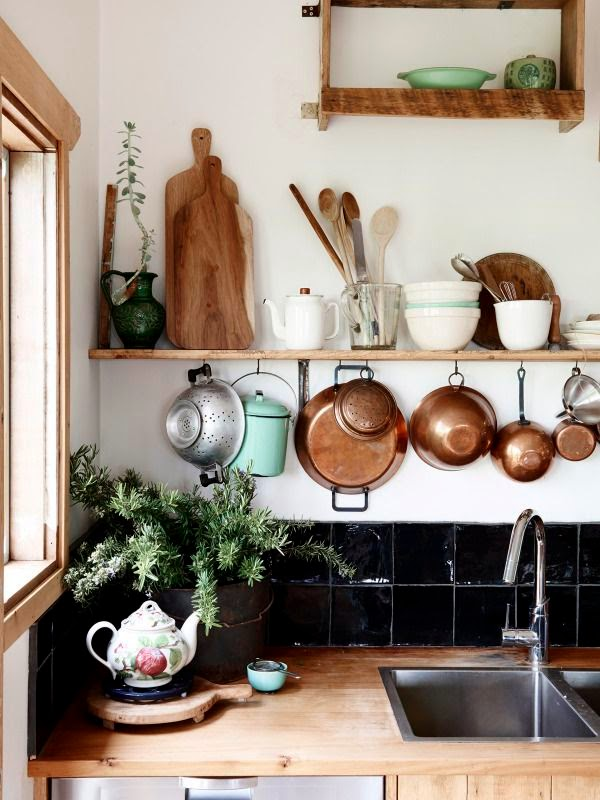 bohemian decor earthy kitchen.jpg